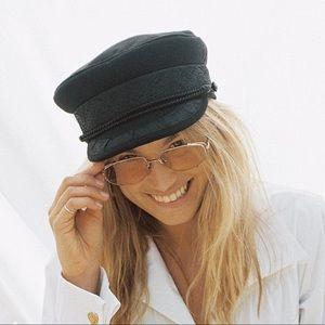Black Lack Of Color Riviera Hat